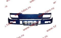 Бампер C синий верхний+нижний (в сборе) фото Новороссийск